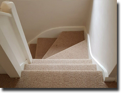 Lifestyle wool carpet fitted